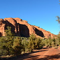 Hiking In Red Rocks In Arizona by DejaVu Designs