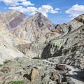 Hiking Path In Ladakh by Didier Marti