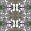 Hill Of Flowers Double by Julia Woodman