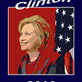 Hillary Clinton 2016 By Christopher Shellhammer by Christopher Shellhammer