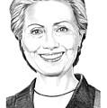 Hillary Clinton by Murphy Elliott
