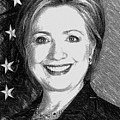 Hillary Clinton  by Rafael Salazar