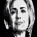 Hillary Clinton by Saundra Myles