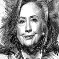 Hillary Rodham Clinton by Rafael Salazar