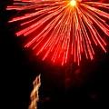 Hilliard Ohio Firework 2  by Beth Akerman
