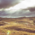 Hills And Outback Tracks by Jorgo Photography - Wall Art Gallery