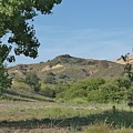 Hills In Peters Canyon by Linda Brody