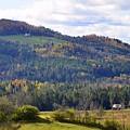 Hills Of Vermont by Corinne Rhode