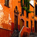 Hillside Casas by Mexicolors Art Photography