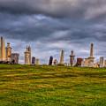 Hilltop Graveyard by John M Bailey