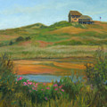Hilltop Houses Cape Cod by Phyllis Tarlow