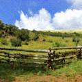 Hilltop Meadow Cedar Mountain - Lnd961601 by Dean Wittle