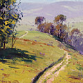 Hilly Landscape Lithgow by Graham Gercken