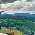 Hilly Landscape by Winslow Homer