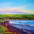 Hilo Bay Net Fisherman by Joseph   Ruff