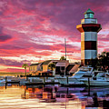 Hilton Head Harbour Town Lighthouse by Christopher Arndt