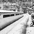 Himalayan Winter Scene by Aidan Moran