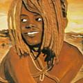 Himba Girl by Desenclos Patrick