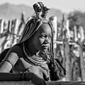 Himba Portrait by Rand