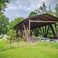 Hindman Memorial Covered Bridge by Jack R Perry