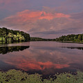 Hinson Lake Clouds by Jimmy McDonald