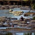 Hippo Raft by Kenneth Imler