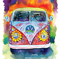 Hippy Bus by Bill Stork