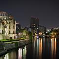 Hiroshima At Night by Sam Garcia