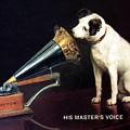 His Master's Voice - Hmv - Dog And Gramophone - Vintage Advertising Poster by Studio Grafiikka