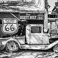 Historic 66  Roadside  by Anthony Sacco