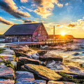 Historic Anderson Dock In Ephraim Door County by Christopher Arndt