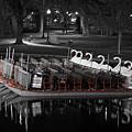 Historic Boston Public Garden Swan Boat by Juergen Roth