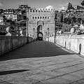 Historic Bridge Toledo Spain by Joan Carroll