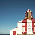 Historic Cape Bonavista Lighthouse, Newfoundland, Canada by Karen Foley