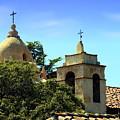 Historic Carmel Mission by Joyce Dickens