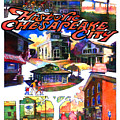 Historic Chesapeake City Poster by Craig A Christiansen
