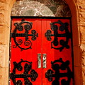 Historic Church Doors by Sonja Anderson