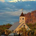 Historic Church In Superstition Mountain State Park by Richard Jenkins