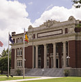 Historic Dillon County Courthouse In South Carolina by MM Anderson