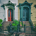 Historic Doors Of Charleston On Bull St by Dale Powell