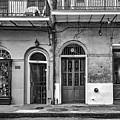 Historic Entrances Bw by Steve Harrington