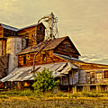 Historic Fairview Mill by David Simpson