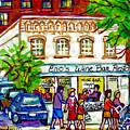 Historic Georgetown Romantic Restaurant Paintings Eno Wine Bar Pennsylvania Ave C Spandau Watercolor by Carole Spandau