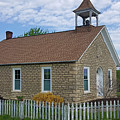 Historic Hinerville Schoolhouse  by L Wright