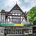 Historic Keswick Theater In Glenside Pa by Bill Cannon