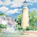 Historic Key West Lighthouse by Paul Brent