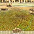 Historic Map Of Denver by Pd