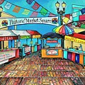 Historic Market Square by Patti Schermerhorn