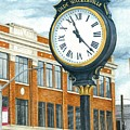 Historic Olde Walkerville Clock by Rebecca Steelman