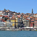 Historic Porto Riverfront by T Aung
